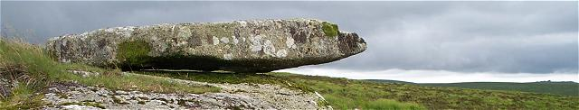 Hangingstone Rock, Dartmoor
